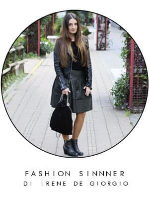 IRENE DE GIORGIO fashion blogger come indossare giacca pelle