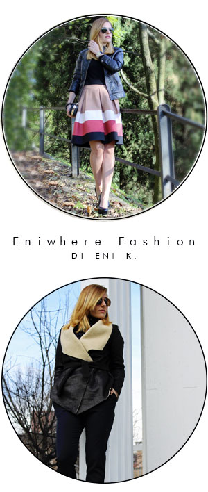 Indossare giubbino pelle fashion blogger Eniwhere Fashion