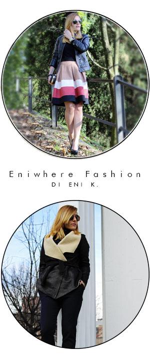 Indossare giubbino pelle fashion blogger Eniwhere Fashion
