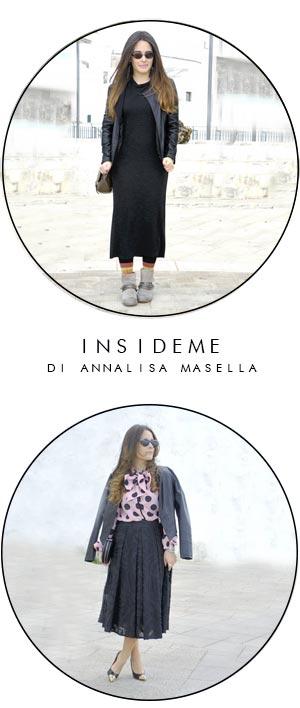 come indossare giacca pelle annalisa masella insideme  fashion blogger