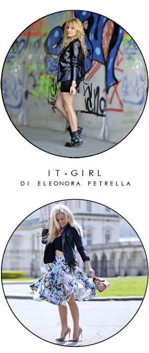 come indossare giacca pelle itgirl eleonora petrella fashion blogger